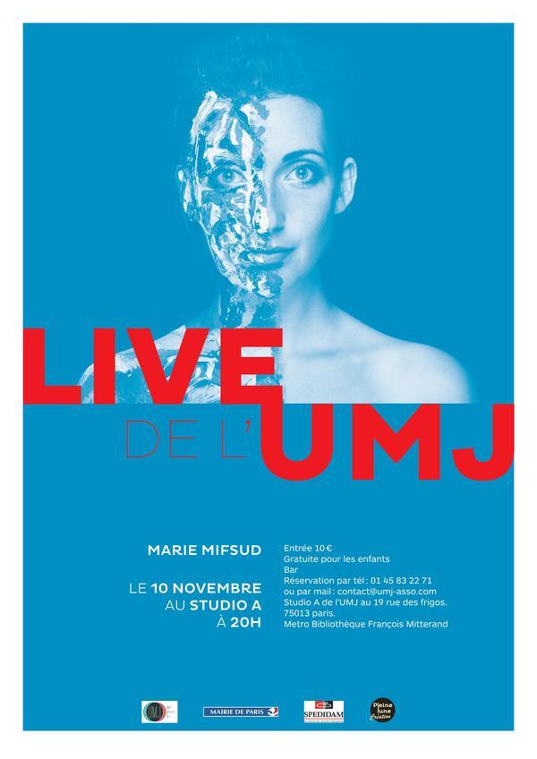 Marie Mifsud - Live de l'UMJ