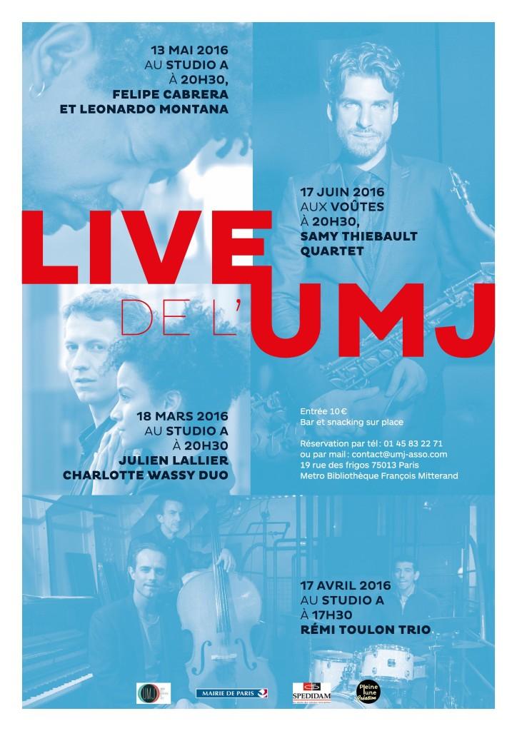 Concerts UMJ 2016