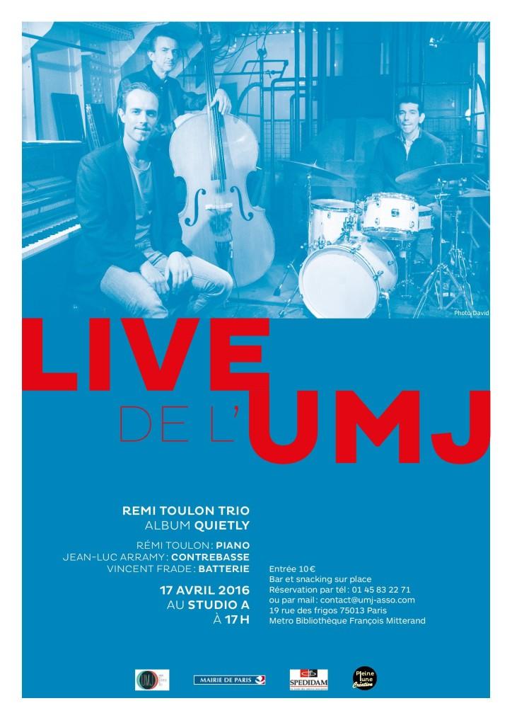 Rémi Toulon Trio